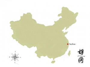Suzhou is in eastern China