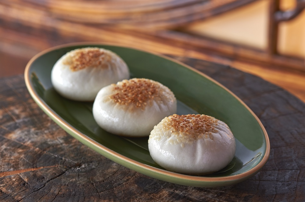 Pan-fried Wagyu beef buns