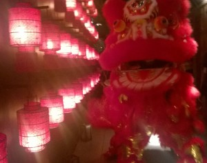 Pak Mei lion dance troupe danced through Hutong for Chinese New Year!