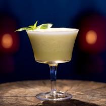 The Jade Emperor cocktail at Hutong's Shanghai Bar