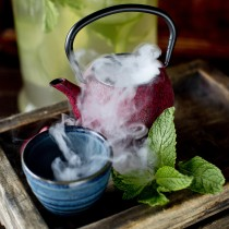 Bing Cha cocktails at Hutong's Shanghai Bar