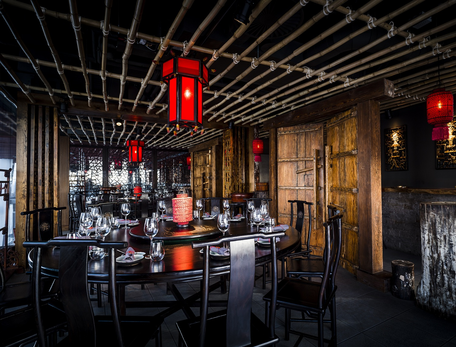 The Beijing private dining room at Hutong