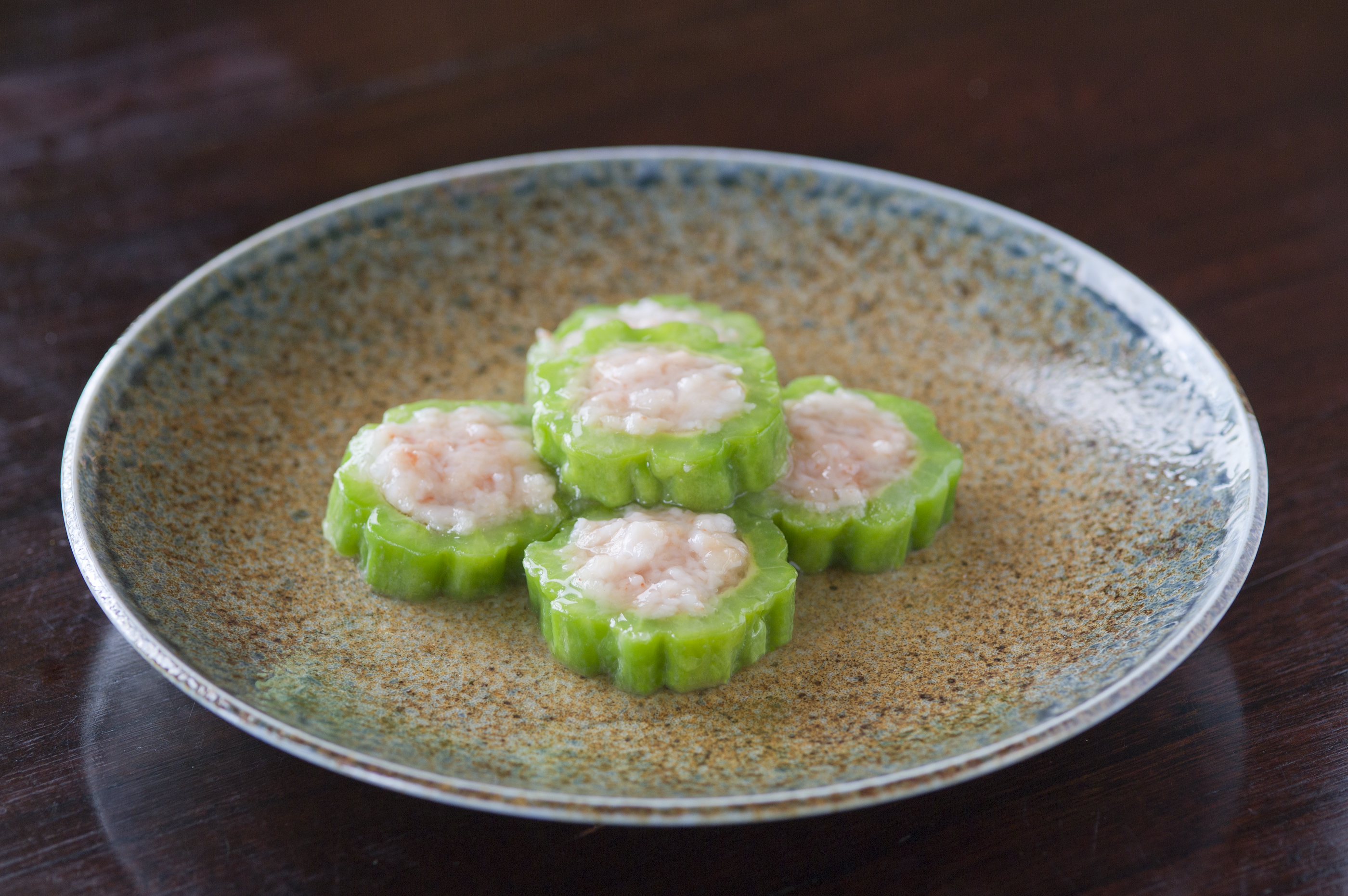 Hutong Shrimp-stuffed bitter melon